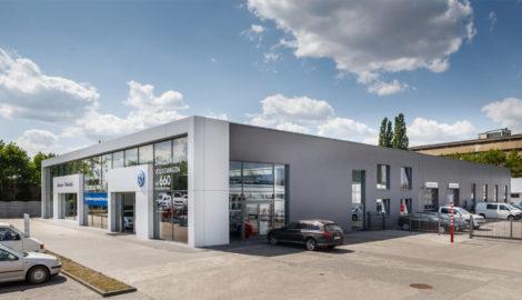 Realizacja hala serwisowa, salon pojazdów Autosar