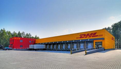 Realizacja hala magazynowa Centrum logistyczne DHL