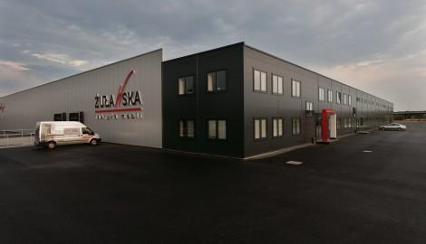Realizacja hala produkcyjno - magazynowa Żuławska Fabryka Mebli