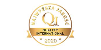 Złote Godło Quality International 2020