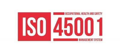 ISO 45001 </br>SYSTEM ZARZĄDZANIA BEZPIECZEŃSTWEM </br>I HIGIENĄ PRACY